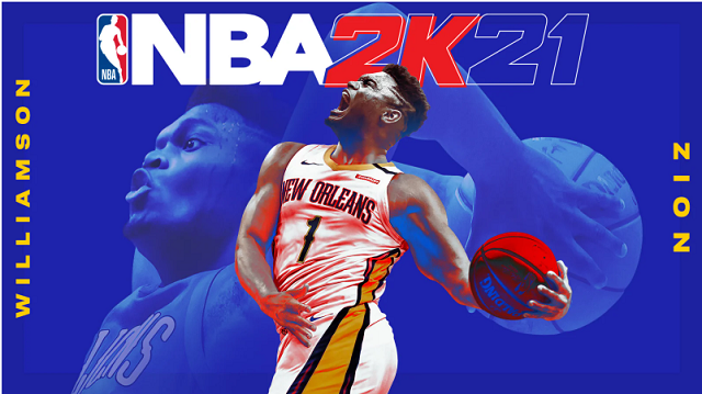 NBA 2K21 Cover Star